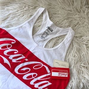 Forever 21 (NWT) Coca Cola Tank (XS)